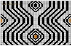 club.osinka.ru picture-9525302?p=16187910 Crochet Chart, Filet Crochet, Crochet Stitches, Tapestry Crochet Patterns, Mosaic Patterns, Knitting Charts, Knitting Patterns, Mochila Crochet, Pixel Pattern