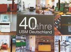 40 Jahre USM Deutschland- mitgefeiert- Danke an USM -  Ihr Partner in der Region Tübingen hecht Einrichtungen