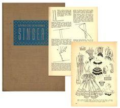 vintage Singer sewing manual
