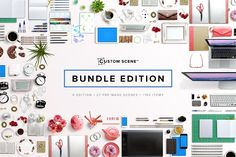 Custom Scene - Bundle Edition by Román Jusdado on @creativemarket