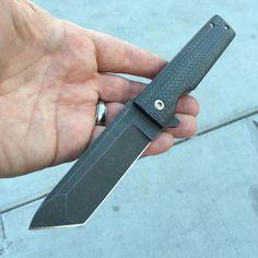 """235 Likes, 1 Comments - Grail Knives (@grailknives) on Instagram: """"Grunt. Maker - @clarkblades Owner/photo - @clifftalon #grailknives #usnstagram #usnfollow #knife…"""""""