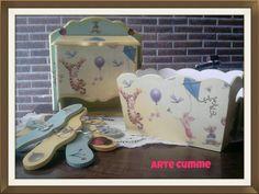 Pañaleros, perchitas y porta cosmeticos para bebes!! ♥