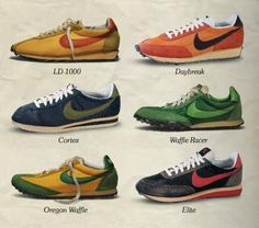 I wanted them in all colors but they were too expensive. Parents didn't spend the way we do now. Even the rich kids only had two pairs.