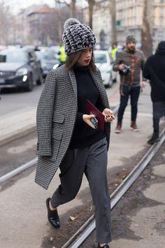 Milan Fashion Week - Grey