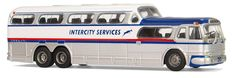 #america #buses #collect #gmc #hobby #intercity service #leisure #locomotion #model cars #nostalgia #oldtimer #pd 4501 #travel and line coach