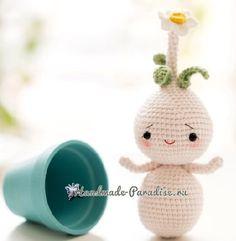 Луковичные цветы - куколки амигуруми (5)