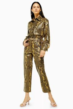 Yellow Snake Trousers