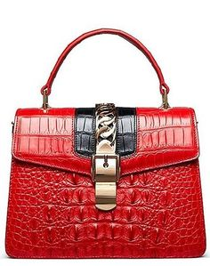 Crocodile Handbags Purses Shoulder Bags for Women #shoulderbagsforwomen