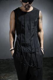 ByTheR Bondage Strap Custom Chic Gothic Sleeveless Shirt. $37.50