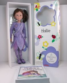 Hallie-Hopscotch-Hill-School-American-Girl-Doll-16-034-Retired-NRFB-With-Book
