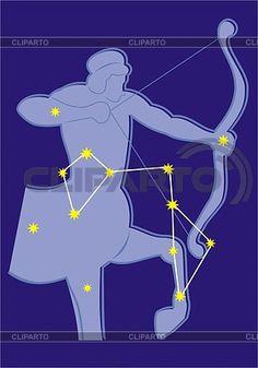 Constellation Saggitarius | Stock Vector Graphics | ID 2011724