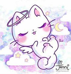 Kawaii In 2020 Cute Animal Drawings Kawaii Cute Animal Drawings Cute Cat Drawing