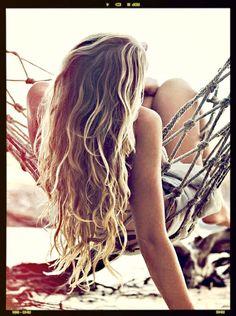 Hair pins just #beach hair
