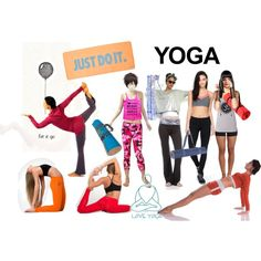 Yoga by pamela-heinbaugh on Polyvore featuring STELLA McCARTNEY, Beyond Yoga, New Look, Indego Africa, Holistic Silk and NIKE