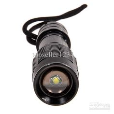 Smiling Shark E7 Cree XM-L T6 1600 Lumen 5 Modes LED Torch (1 x 18650/3 x AAA/1 x 22650 Battery) $16.87