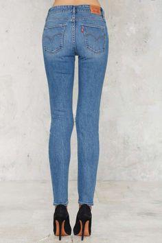 Levi's 721 Jeans - Rugged Indigo - Festival Shop | Best Sellers | Skinny | Distressed