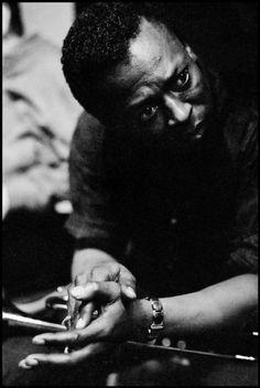 Dennis Stock - Miles Davis. USA (1958)