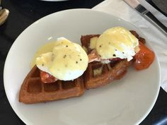 #BRUNCH at @Chef_Meir_Adoni's @bluesky_bymeiradoni in the @CarltonTelAviv Hotel  amazing spread nearly all-inclusive meal for 120 per person.  This waffle  gravlax  poached egg  hollandaise sauce was amazing!  Innovative meal and flavors that tantalize your tastebuds.  More pics from restaurants & food coming soon to @yeahthatskosher.israel  make sure you're also following that account highlighting awesome kosher meals around #Israel.  Shabbat Shalom from ארץ ישראל!  Your comments keep me…