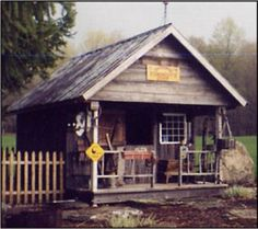 rustic garden shed plans | Old Garden Shed Outhouses and Garden Sheds Benedict Antique Lumber and ...
