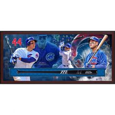 Anthony Rizzo Baseball jerseys, tees, and more are at the Official Online Store of the MLB. Find the latest in Anthony Rizzo merchandise and memorabilia, or check out the rest of our MLB Baseball gear for the whole family. Chicago Cubs Memorabilia, Baseball Jerseys, Baseball Cards, Mlb Bat, Bats For Sale, Cubs Fan, American Sports, Boston Red Sox, Shadow Box