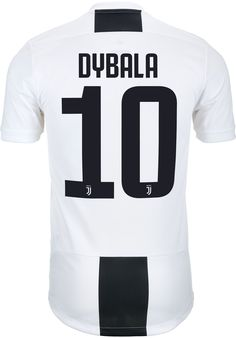 adidas Paulo Dybala Juventus Home Authentic Jersey - SoccerPro Jersey Atletico Madrid, Soccer, Football, Adidas, Royals, Birthday, Men, Fashion, Sport Cars