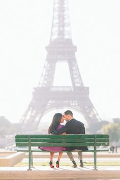 Proposal & Engagement: Paris | French Grey Photography