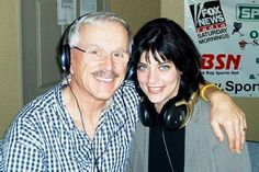 Dick Smothers | Here's Dick Smothers with Robin Lynn at Sarasota's 1220 AM News Talk ...