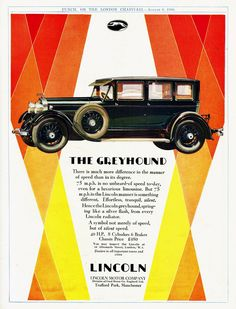 1928 Lincoln 7-Passenger Limousine
