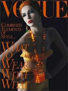 What to Wear with What by Steven Meisel, April 2011
