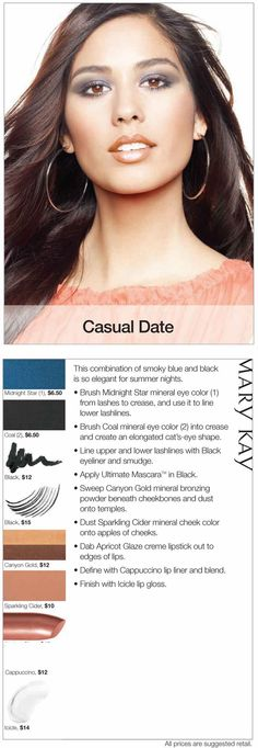 Create an elegant look for summer nights with this Casual Date look!
