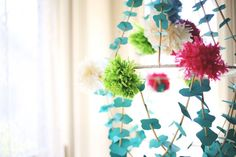 Pajaki Chandelier DIY - even though I'm not a fan of this blog, I do want to make one of these one day.