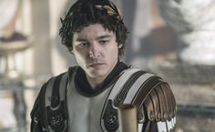 Alexander Vlahos as Valentinian in Barbarians Rising