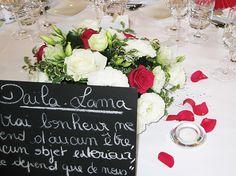Centre de table mariage romantique Table Decorations, Centerpiece Wedding, Dinner Table Decorations