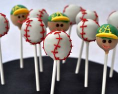 Home Run of Baseball Cake Ideas, Baseball Cake Pop Ideas