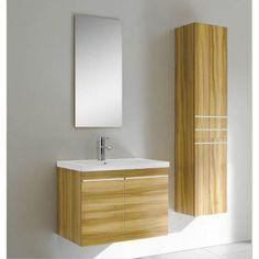 Alcina with Two Doors and Side Storage Bathroom Vanity Units, Wall Hung Vanity, Bathroom Furniture, Double Doors, Ireland, The Unit, Contemporary, Medium, Storage