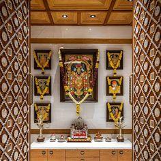Room Interior, Interior And Exterior, Temple Design For Home, Mandir Design, Pooja Room Door Design, Ganesha Pictures, Apartment Balcony Decorating, Puja Room, Room Doors