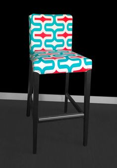 IKEA HENRIKSDAL Bar Stool Chair Cover  Embrace Calypso by RockinCushions