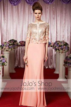 ff2afaba7 Dress Fashion Hijab Pink Evening Dress, Formal Evening Dresses, Evening  Dresses Online, Evening
