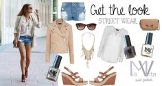 Get the look - streetwear Mia Vita nail polish