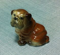 Hey, I found this really awesome Etsy listing at https://www.etsy.com/listing/156899390/miniature-ceramic-dog-bulldog-sitting