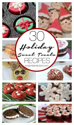 30 Holiday Sweet Treats to GIVE this holiday! Who doesn't love a good baked good (or two).