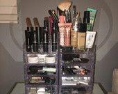 Super Glam Acrylic Makeup Organizers!