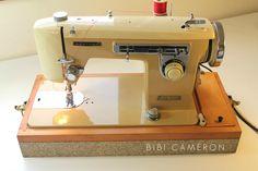 Vintage brother sewing machine model 345