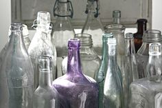 Old bottles - love them because my Dad loved them!