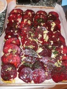 Pečená červená řepa s bazalkou | Přílohy, saláty, vařená zelenina | Baby On Line