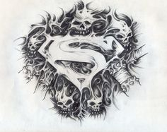 Superman Tattoos Designs