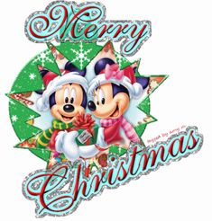 Mickey And Minnie Christmas Clipart - Clipart Suggest Disney Merry Christmas, Disney Christmas Decorations, Minnie Mouse Christmas, Merry Christmas Wishes, Christmas Books, Christmas Greetings, Christmas Clipart, Natal Do Mickey Mouse, Disney Mickey Mouse