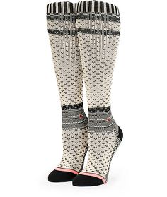 Kick the cold away in style with these boot length socks made with a chunky knit construction and springy elastic arch support that provides unmatchable comfort   Zumiez   Zumiez has some great socks