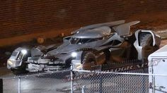 Spy photo of new Batmobile
