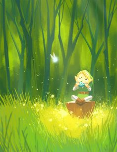 triforceof-power:  forest melody by ~taupish